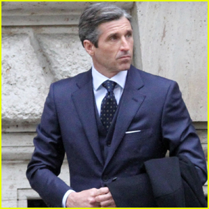 Patrick Dempsey Suits Up While Filming 'Devils' Season Two in Rome