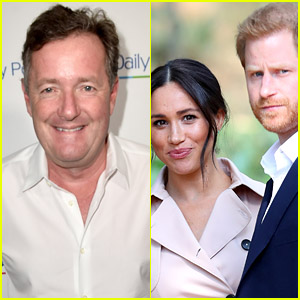 Piers Morgan Claims Members of Royal Family Thanked Him Over His Meghan Markle & Prince Harry Criticism