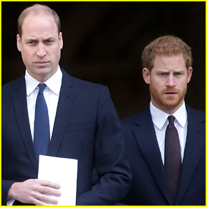 Here's Who Diffused the Tension Between Prince William and Prince Harry at Prince Philip's Funeral