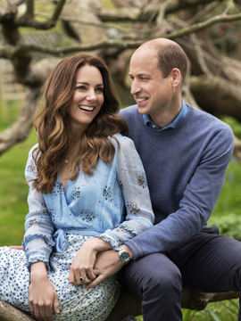 Prince William & Duchess Kate Middleton Debut 10th Anniversary Portraits, Send Out Rare Tweet to Mark the Occasion!
