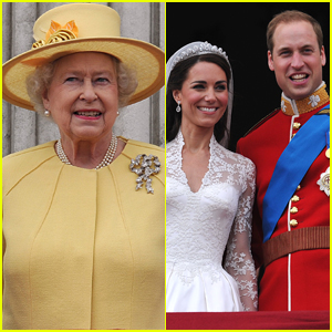 Queen Elizabeth Made an Awkward Comment About Prince William & Kate Middleton's Wedding Cake