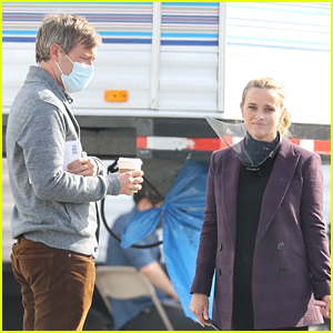 Reese Witherspoon Brings Her Dog to 'Morning Show' Set, Spotted with Mark Duplass!