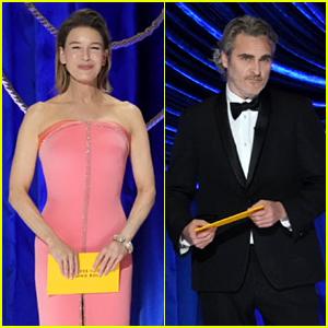 Renee Zellweger & Joaquin Phoenix Return to the Oscars to Present The Final Awards at Oscars 2021