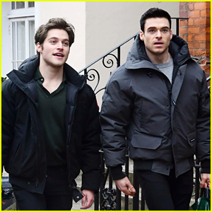 Richard Madden & Froy Gutierrez Seen Together Again in London - See Every Photo!