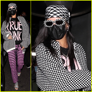 Rihanna Is the 'True Punk' While Grabbing Dinner With Friends!