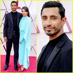 Riz Ahmed Makes First Ever Appearance With Wife Fatima Farheen Mirza at Oscars 2021