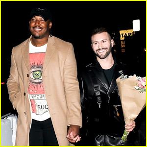 NFL Player Ryan Russell & Boyfriend Corey O'Brien Look So Cute on Birthday Dinner Date!