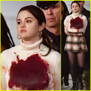 Selena Gomez Is All Bloody While Getting Arrested on the Set of 'Only Murders in the Building'!