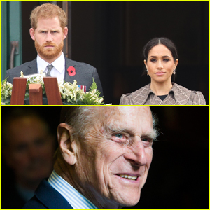 Prince Harry & Meghan Markle Issue Statement After Prince Philip's Death