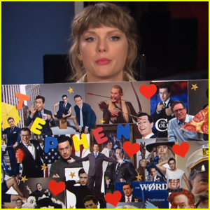 Taylor Swift Tries to Prove 'Hey Stephen' Isn't About Stephen Colbert - Watch Now!