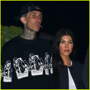 Travis Barker Gets Girlfriend Kourtney Kardashian's Name Tattooed on His Chest!