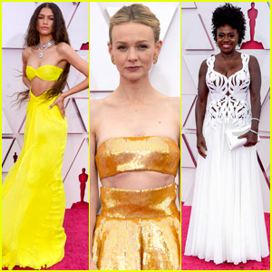 Zendaya, Carey Mulligan, & More Rock Oscars 2021 Red Carpet's Hottest Trend - Cutout Dresses!