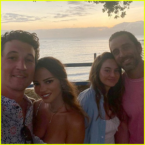 Shailene Woodley & Fiance Aaron Rodgers Join Miles Teller & Wife Keleigh on Vacation in Hawaii!