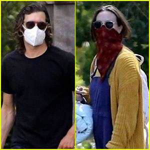 Adam Brody & Leighton Meester Spotted on Walk in the Woods with Their Daughter