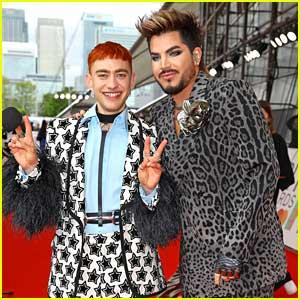 Adam Lambert & Olly Alexander Bring Their Cool Style to Brit Awards 2021!