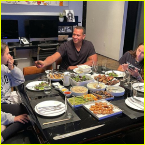 Alex Rodriguez Has a Dinner Date With His Daughters After Jennifer Lopez Split