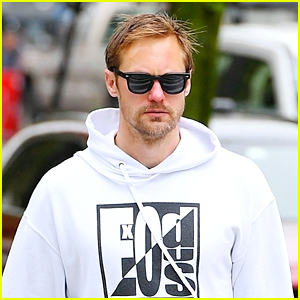 Alexander Skarsgard Spotted Out In NYC Following 'Succession' News