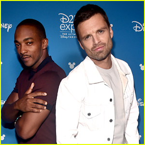 Anthony Mackie Brags On Sebastian Stan Playing Tommy Lee in 'Pam & Tommy'