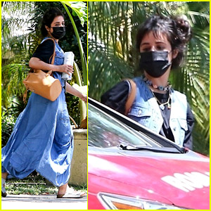 Camila Cabello Is Learning How to Drive, Spotted Taking a Lesson