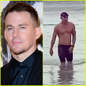 Channing Tatum Goes Shirtless, Reveals the Most Exhausting Form of Exercise He's Ever Done