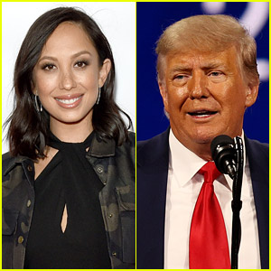 Cheryl Burke Talks About the Time Donald Trump Went Into Her Dressing Room While She Was Half-Dressed