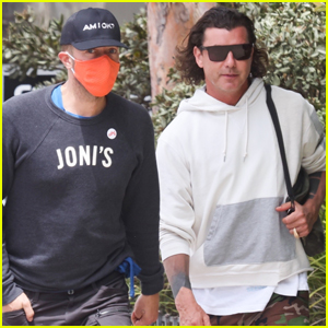 Chris Martin Meets Up with Gavin Rossdale for Lunch in Malibu