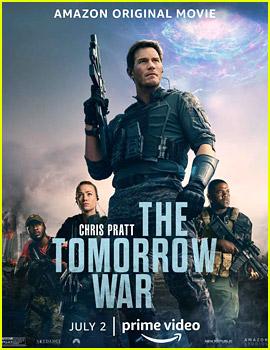 Chris Pratt Time Travels, Fights Aliens in 'Tomorrow War' Trailer - Watch Now!
