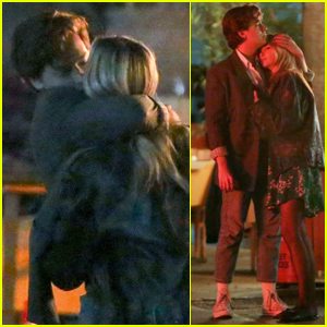 Cole Sprouse Shares Steamy Kiss with Girlfriend Ari Fournier During Date Night!