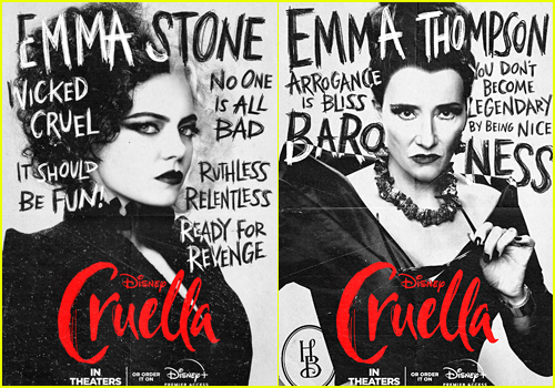 New 'Cruella' Posters Reveal More Details About the Characters!