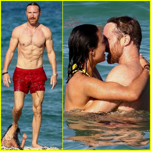 David Guetta Goes Shirtless in Miami, Packs on the PDA with Girlfriend Jessica Ledon!