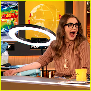 Drew Barrymore Gets a Special Tattoo While on TV - Watch the Video!