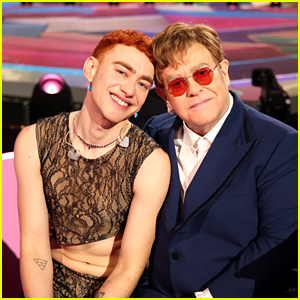 Elton John Joins Olly Alexander for Epic Performance of 'It's a Sin' at Brit Awards 2021 (Video)