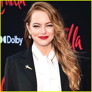 Emma Stone Didn't Carry Cruella's Signature Cigarette Holder In 'Cruella' & This Is The Reason Why