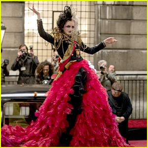 Emma Stone Reveals Her Favorite Costume From 'Cruella', Which Featured Over 40 Unique Looks