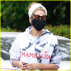 Eva Mendes Steps Out in Mambacita Gear, Says She 'Lives In' These Sweats