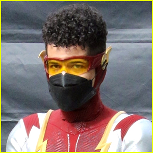Jordan Fisher Gets Into Character As Impulse In First Set Photos From 'The Flash'