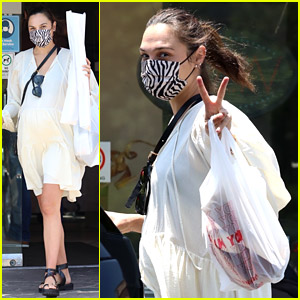 Pregnant Gal Gadot Spotted Running Errands Ahead of Memorial Day
