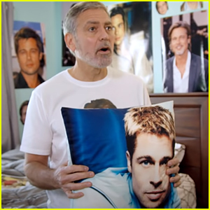 George Clooney is Brad Pitt's Biggest Fan In the World In This Funny Fundraising Video