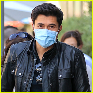 Henry Golding Picks Up A Little Gift For His New Baby While Out in LA