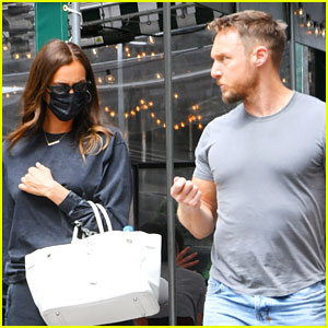 Irina Shayk Spotted Hanging Out with Trainer Jason Walsh