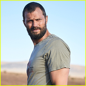 Jamie Dornan Has Super Short Hair In These First Look Pics Of His New Series 'The Tourist'