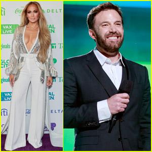Jennifer Lopez & Ben Affleck Both Appear at Vax Live Concert After Recent Hang Out