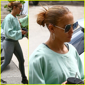 Jennifer Lopez Hits the Gym a Few Days After Her Getaway with Ben Affleck