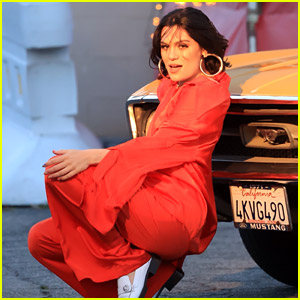 Jessie J Spotted Filming a New Music Video - See Every Photo!