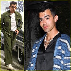 Joe Jonas Goes Shopping Ahead of 'Late Late Show' Appearance Earlier This Week