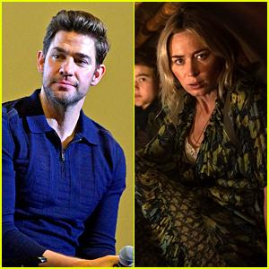 John Krasinski Praises Wife Emily Blunt For This Scene in 'Quiet Place II'