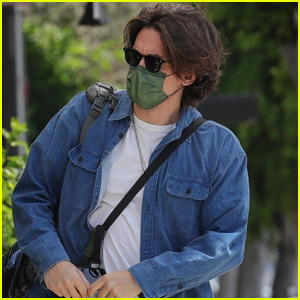 John Mayer Stays Safe in a Face Mask While Out for the Day in WeHo