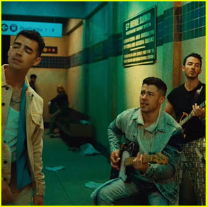 Jonas Brothers Drop Surprise Music Video for 'Leave Before You Love Me' with Marshmello