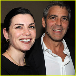 Julianna Margulies Reveals Why She & George Clooney Never Hooked Up During Their 'ER' Days