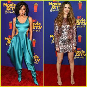 Jurnee Smollett & Nasim Pedrad Show Off Their Stylish Sides at MTV Movie & TV Awards 2021